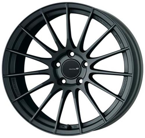 Enkei 484-8105-6522GM RS05RR Matte Gunmetal Racing Wheel 18x10.5 5x114.3 22mm Offset 75mm Bore