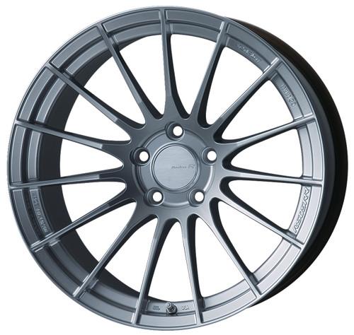 Enkei 484-8105-6535SP RS05RR Sparkle Silver Racing Wheel 18x10.5 5x114.3 35mm Offset 75mm Bore