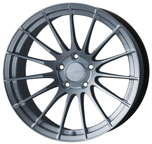 Enkei 484-890-6535SP RS05RR Sparkle Silver Racing Wheel 18x9 5x114.3 35mm Offset 75mm Bore