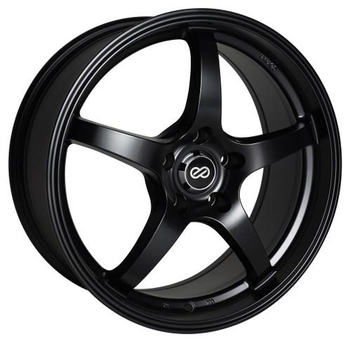 Enkei 487-565-6538BK VR5 Matte Black Performance Wheel 15x6.5 5x114.3 38mm Offset 72.6mm Bore
