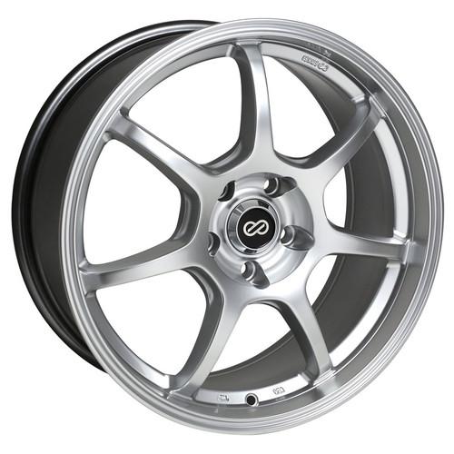 Enkei 488-565-4942HS GT7 Hyper Silver Performance Wheel 15x6.5 4x100 42mm Offset 72.6 Hub Bore
