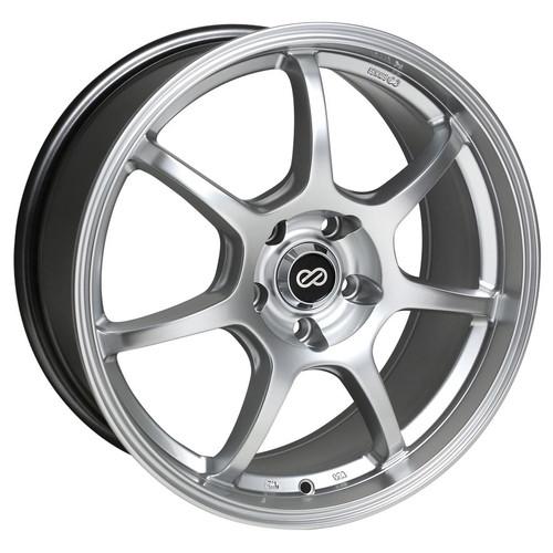 Enkei 488-880-1242HS GT7 Hyper Silver Performance Wheel 18x8 5x120 42mm Offset 72.6mm Bore
