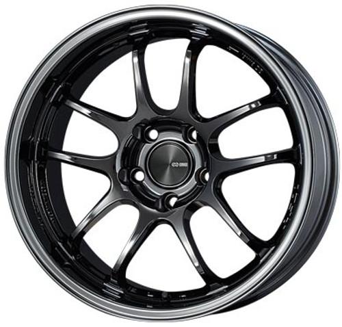 Enkei 489-895-6512SBK PF01EVO SBK Racing Wheel 18x9.5 5x114.3 12mm Offset 75mm Bore