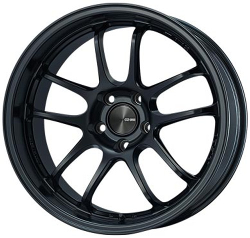 Enkei 489-895-6545BK PF01EVO Matte Black Racing Wheel 18x9.5 5x114.3 45mm Offset 75mm Bore