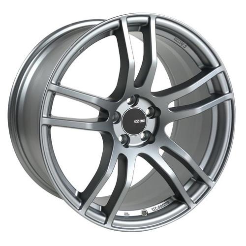 Enkei 491-780-4445GR TX5 Platinum Gray Tuning Wheel 17x8 5x112 45mm Offset 72.6mm Bore