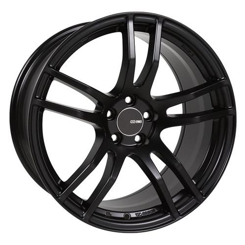 Enkei 491-880-6535BK TX5 Matte Black Tuning Wheel 18x8 5x114.3 35mm Offset 72.6mm Bore
