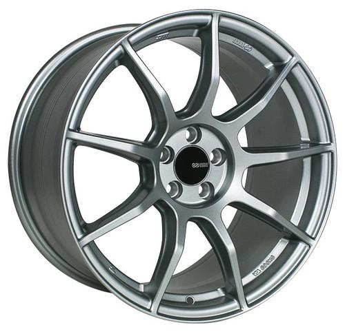 Enkei 492-880-4445GR TS9 Platinum Gray Tuning Wheel 18x8 5x112 45mm Offset 72.6mm Bore