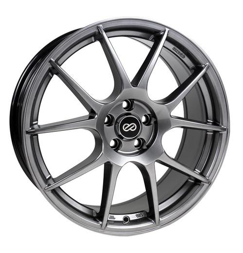 Enkei 494-775-4942HB YS5 Hyper Black Performance Wheel 17x7.5 4x100 42mm Offset 72.6mm Bore