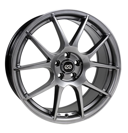 Enkei 494-880-4445HB YS5 Hyper Black Performance Wheel 18x8 5x112 45mm Offset 72.6mm Bore