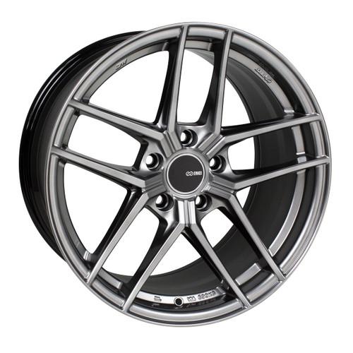 Enkei 498-895-6515HS TY5 Hyper Silver Tuning Wheel 18x9.5 5x114.3 15mm Offset 72.6mm Bore
