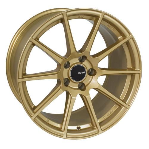 Enkei 499-780-8045GG TS10 Storm Gray Tuning Wheel 17x8 5x100 45mm Offset 72.6mm Bore
