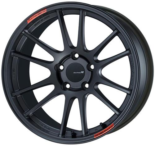Enkei 504-8105-6522GM GTC01RR Matte Gunmetal Racing Wheel 18x10.5 5x114.3 22mm Offset 75mm Bore