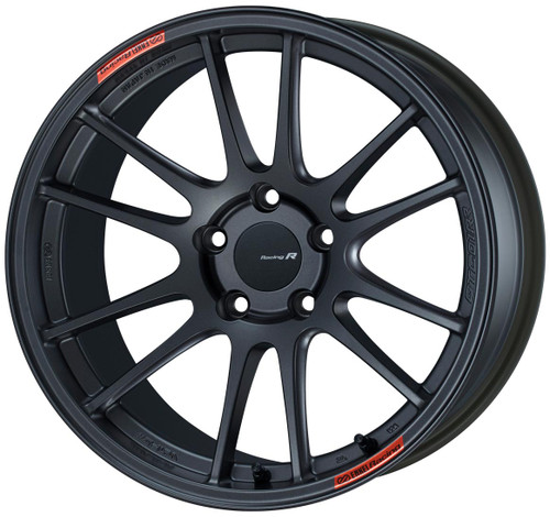 Enkei 504-890-6535GM GTC01RR Matte Gunmetal Racing Wheel 18x9 5x114.3 35mm Offset 75mm Bore