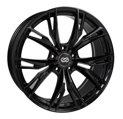 Enkei 505-285-1240BK ONX Gloss Black Performance Wheel 20x8.5 5x120 40mm Offset 72.6mm Bore