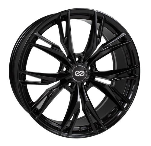 Enkei 505-775-8045BK ONX Gloss Black Performance Wheel 17x7.5 5x100 45mm Offset 72.6mm Bore