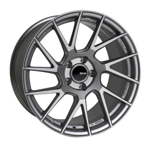 Enkei 507-895-6538GR TM7 Storm Gray Tuning Wheel 18x9.5 5x114.3 38mm Offset 72.6mm Bore