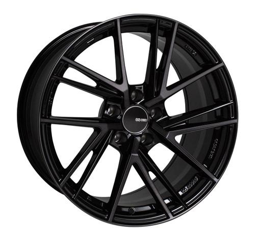 Enkei 508-885-6525MBM TD5 Pearl Black with Machined Spoke Tuning Wheel 18x8.5 5x114.3 25mm Offset 72