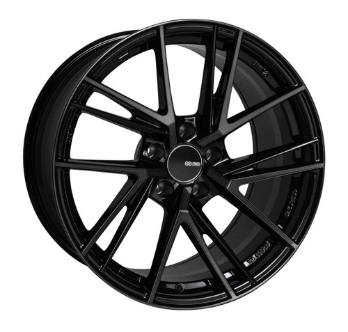 Enkei 508-895-8045MBM TD5 Pearl Black with Machined Spoke Tuning Wheel 18x9.5 5x100 45mm Offset 72.6