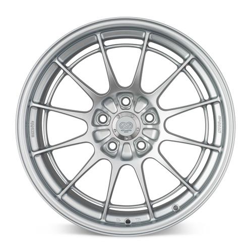 Enkei 3658953140HS NT03+M 18x9.5 5X108 40mm Offset Racing Series Wheel Hyper SIlver 72.6mm Bore