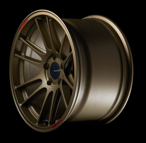 Enkei 504-885-8042GG GTC01RR 18x8.5 5x100 42mm Offset Racing Series Wheel Titanium Gold 75mm Bore