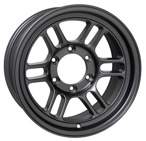 Enkei 528-680-8400GM RPT1 16x8 6x139.7 00mm Offset Racing Series Wheel Matte Dark Gunmetal 106.1mm Bore