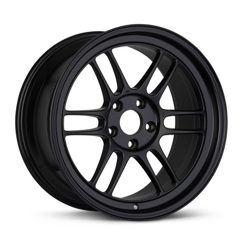 Enkei 528-790-8400BK RPT1 17x9 6x139.7 00mm Offset Racing Series Wheel Matte Black 106.1mm Bore