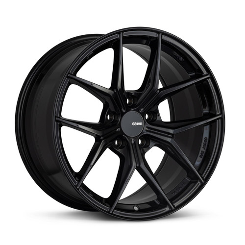 Enkei 529-880-6545BK TSR-X 18x8 5x114.3 45mm Offset Tuning Series Wheel Gloss Black 72.6mm Bore
