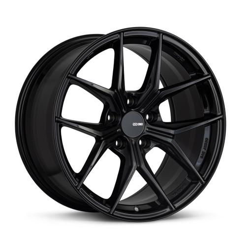 Enkei 529-885-6538BK TSR-X 18x8.5 5x114.3 38mm Offset Tuning Series Wheel Gloss Black 72.6mm Bore