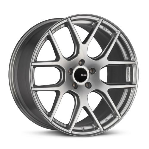 Enkei 531-285-1240GR XM-6 20x8.5 5x120 40mm Offset Performance Series Wheel Storm Gray 72.6mm Bore