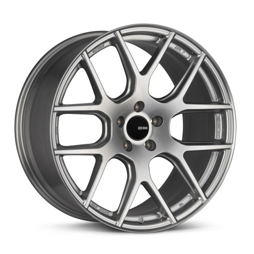 Enkei 531-285-6540GR XM-6 20x8.5 5x114.3 40mm Offset Performance Series Wheel Storm Gray 72.6mm Bore