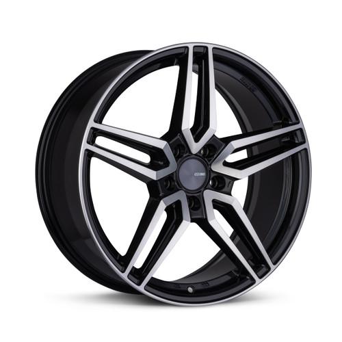 Enkei 532-285-1240BKM VICTORY 20x8.5 5x120 40mm Offset Performance Series Wheel Black Machined 72.6mm Bore