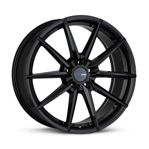 Enkei 533-775-8045BK HORNET 17x7.5 5x100 45mm Offset Performance Series Wheel Gloss Black 72.6mm Bore