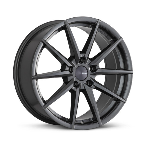 Enkei 533-880-4445AP HORNET 18x8 5x112 45mm Offset Performance Series Wheel Anthracite 72.6mm Bore