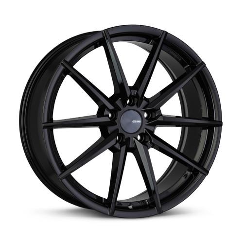 Enkei 533-880-4445BK HORNET 18x8 5x112 45mm Offset Performance Series Wheel Gloss Black 72.6mm Bore