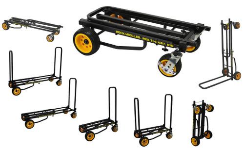 "Rock N Roller MultiCart - R16 ""Ground Glider Max"" w/R Trac (600lb capacity)"