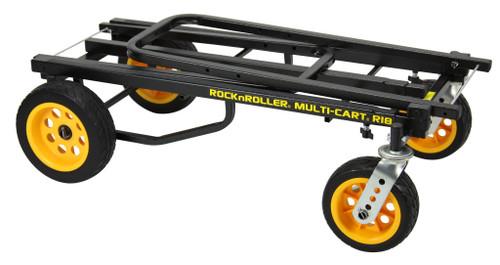 """Rock N Roller MultiCart - R18  """"Ground Glider Mega"""" w/R Trac (700lb capacity)"""