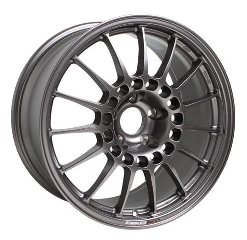 Enkei 514-895-6538DS RCT5 Dark Silver Racing Wheel 18x9.5 5x114.3 38mm Offset 75mm Bore