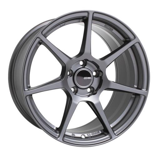 Enkei 516-885-8045GM TFR Matte Gunmetal Tuning Wheel 18x8.5 5x100 45mm Offset 72.6mm Bore