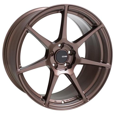 Enkei 516-895-6538ZP TFR Copper Tuning Wheel 18x9.5 5x114.3 38mm Offset 72.6mm Bore