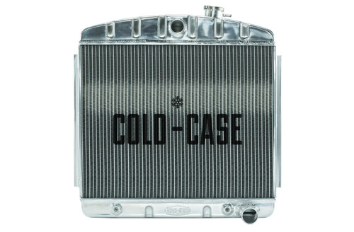 Cold Case Radiators CHT563A 55-56 Tri-5 Chevy Radiat or 6 Cyl (Front Mount)