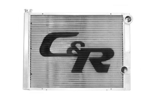 C And R Racing Radiators 902-31161 Radiator 16 x 31 Double Pass High Outlet Open