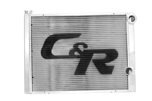 C And R Racing Radiators 902-31191 Radiator 19 x 31 Double Pass Low Outlet Open