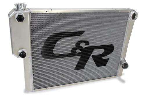 C And R Racing Radiators 905-28191 Radiator 19 x 28 Double Pass w/Exchanger Open