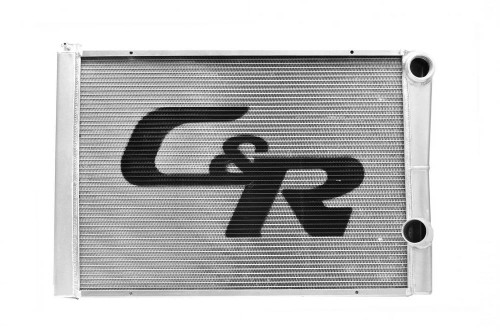 C And R Racing Radiators 911-28191 Radiator LW Chevy 19x28 Dual Pass Extruded Core