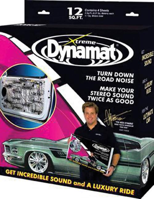 Dynamat 10435 Dynamat Extreme Door Kit 4 Sheets 12in x 36in