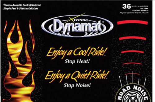 Dynamat 10465 Dynamat Extreme Mega Pak 9 Sheets 24in  x 48in