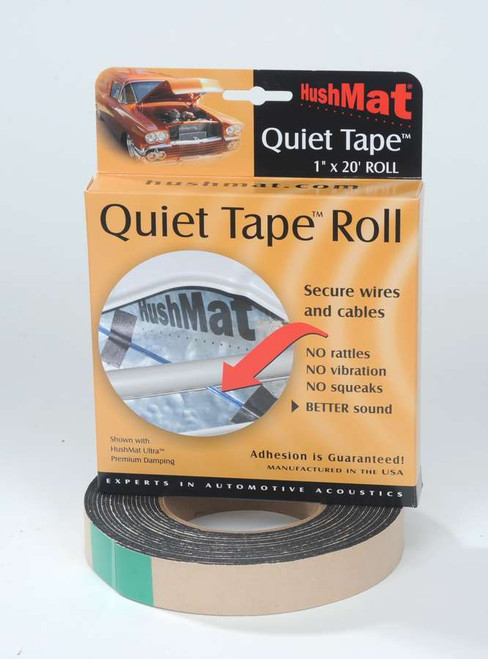 Hushmat 30300 Quiet Tape Shop Roll 1in x 20ft