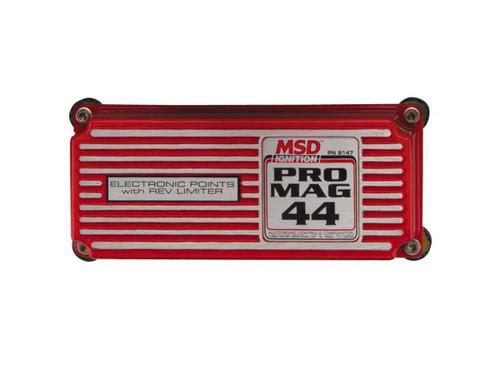 Msd Ignition 8147 Pro Mag 44 Box W/Rev Lmt
