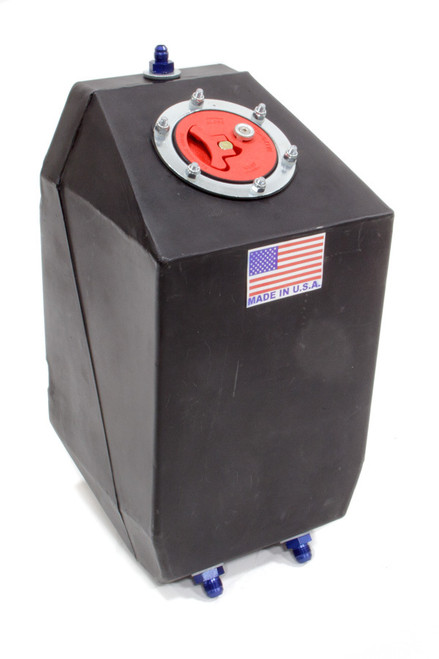 Rjs Safety 3000201 Fuel Cell 4 Gal Blk Drag w/Aircraft Cap
