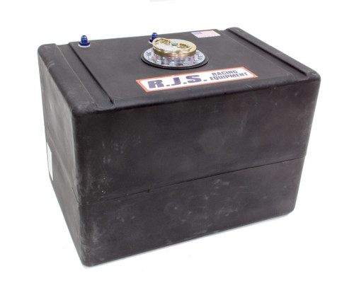 Rjs Safety 3004701 32 Gal Economy Cell Blk w/Metal D-Ring Cap